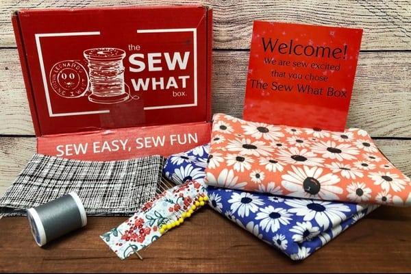 Sewing subscription box