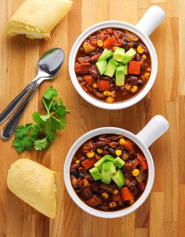 Vegetarian winter crockpot recipes