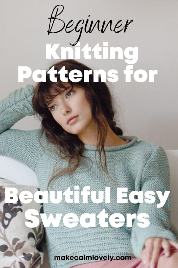 Knitting patterns for sweaters