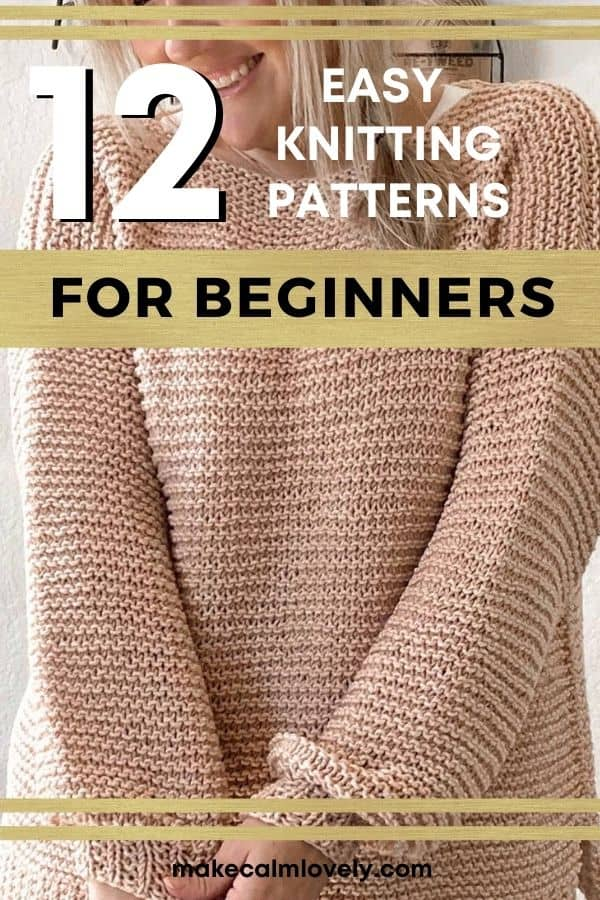 Patterns for knitted sweaters