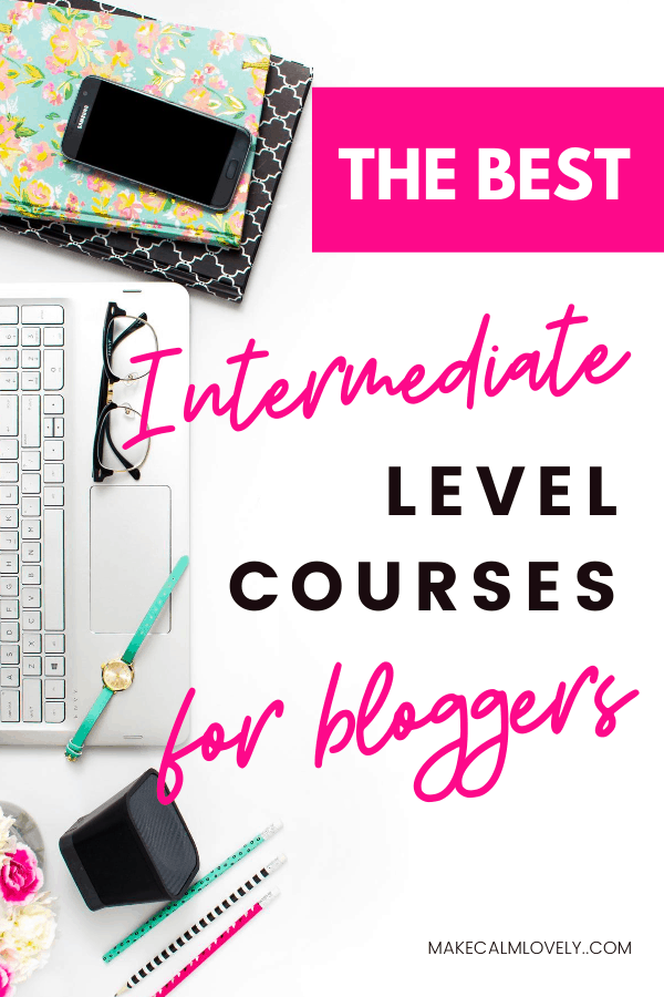 The Best Courses for Intermediate Level Bloggers