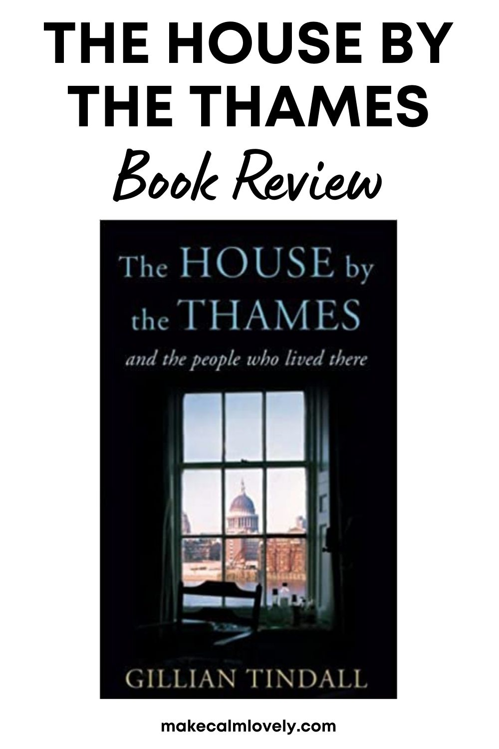 Picture of front cover of The House by the Thames book.