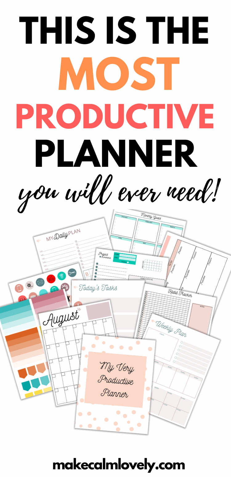 Very productive Planner