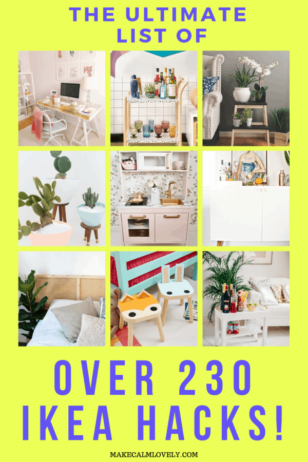 The ultimate list of over 230 IKEA Hacks!