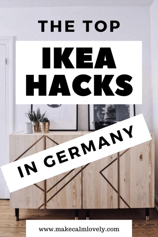 The Top IKEA Hacks in Germany #IKEA #IKEA Hacks #Germany #German