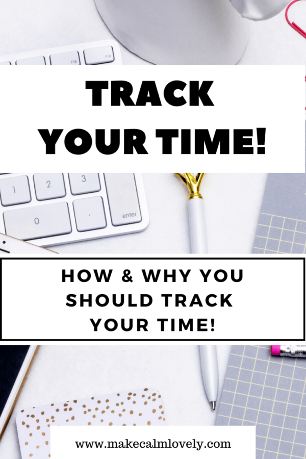 Track your time. How & why you should track your time #Time tracking #productivity #time management