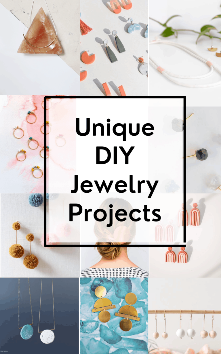 DIY Jewelry Projects that are really Unique & Pretty