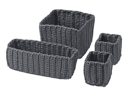 Nordrana storage baskets from Ikea