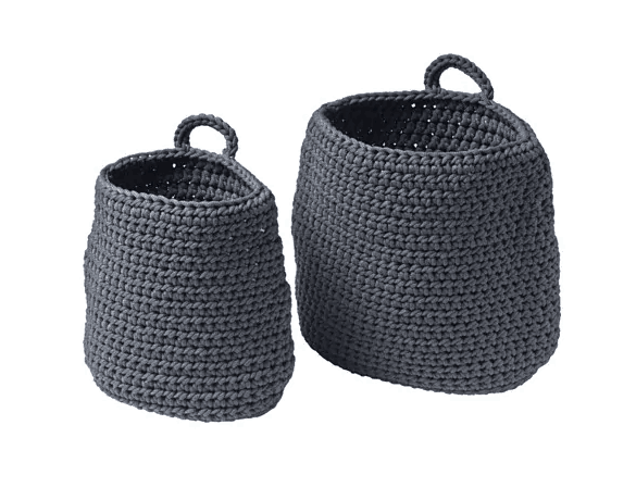 Ikea Nordrana storage baskets