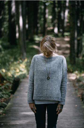The Weekender sweater Love Knitting