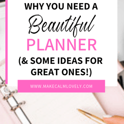 Why you need to use a Good Planner