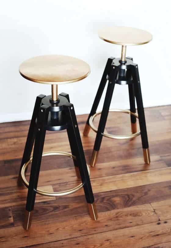 IKEA bar stools hack