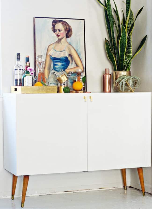 14 IKEA Hacks that look Antique & Vintage