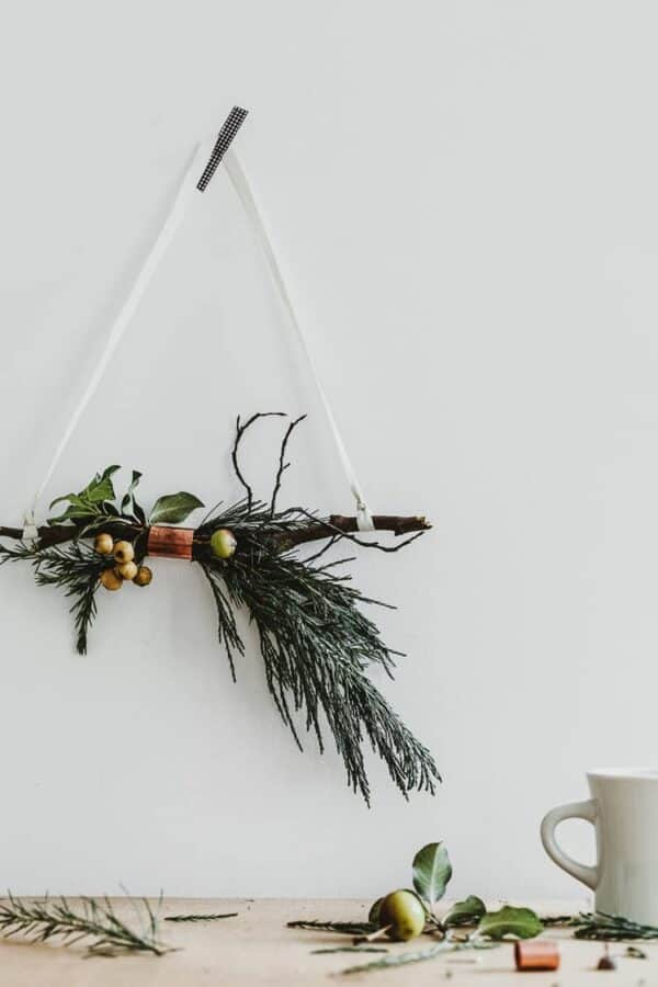 Cooper and Twig Wreath