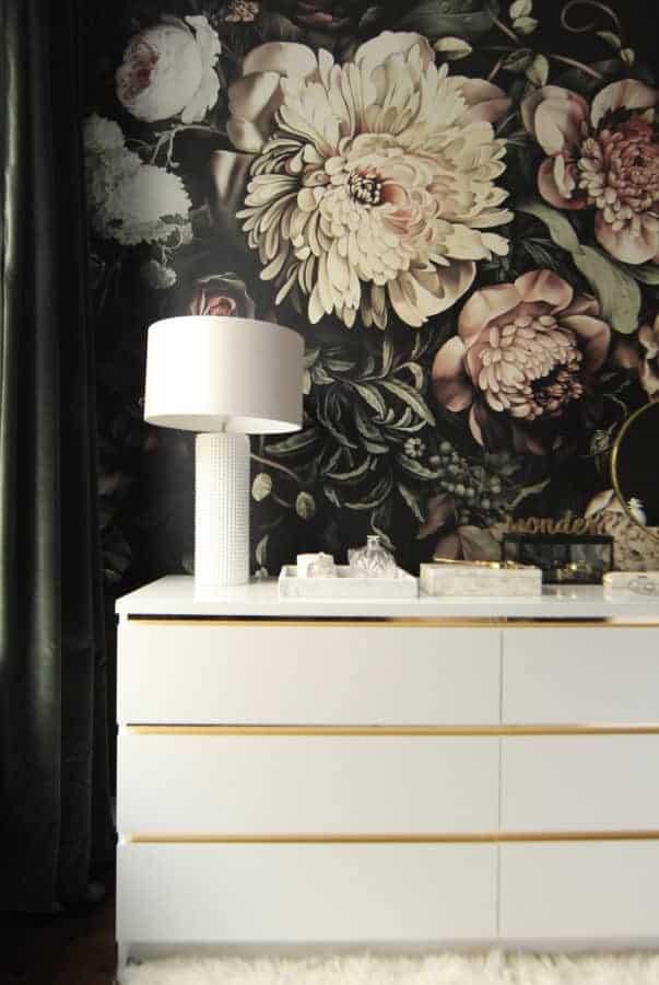 Vintage style IKEA dresser hack
