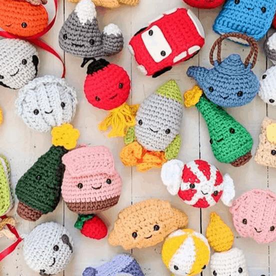 Crochet characters Amigurumi