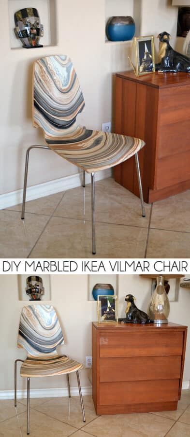 Marbled chair