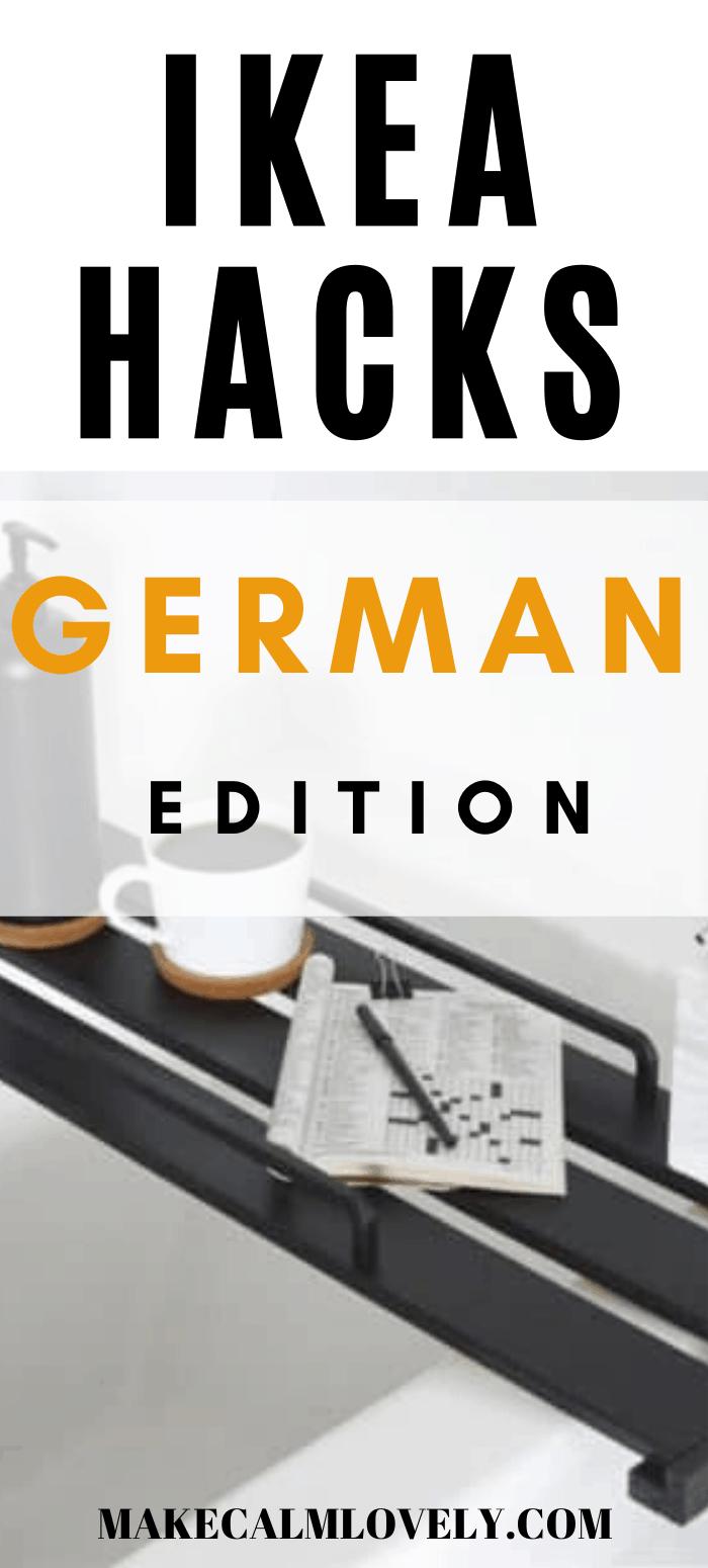 IKEA Hacks German Edition - all the best IKEA hacks in Germany right now!
