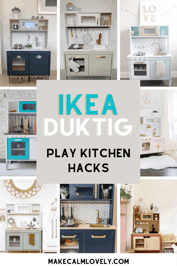 IKEA Duktig play kitchen hacks