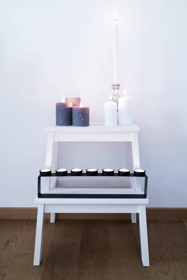 Romantic step stool
