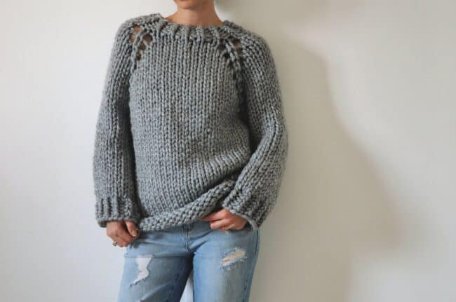 Super Chunky Knitted Sweater