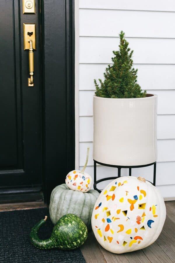 Terrazo pumpkin