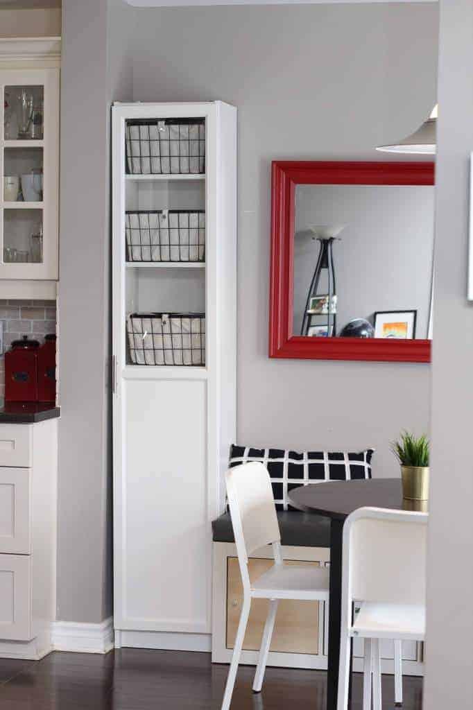 kitchen-pantry-ikea-Billy-bookcase-hack - Make Calm Lovely