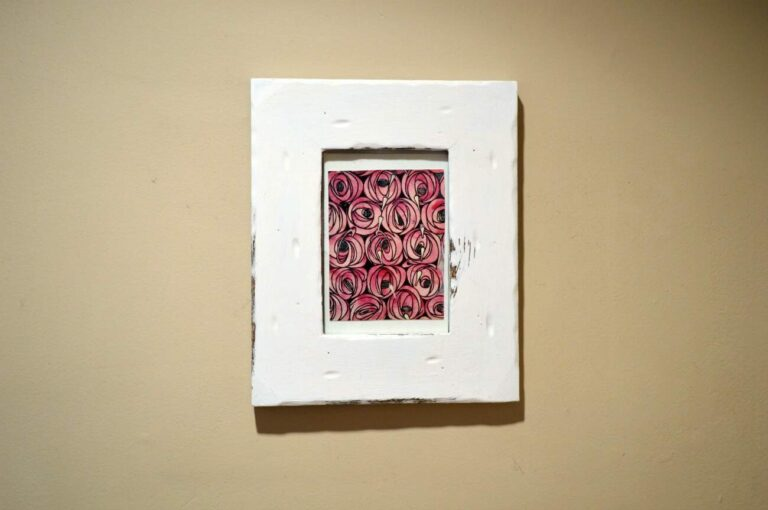 DIY Vintage look picture frames