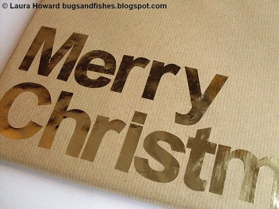 Kraft paper gift wrap