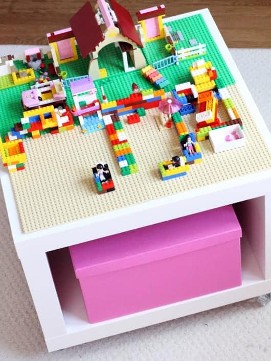 IKEA Lego table hack
